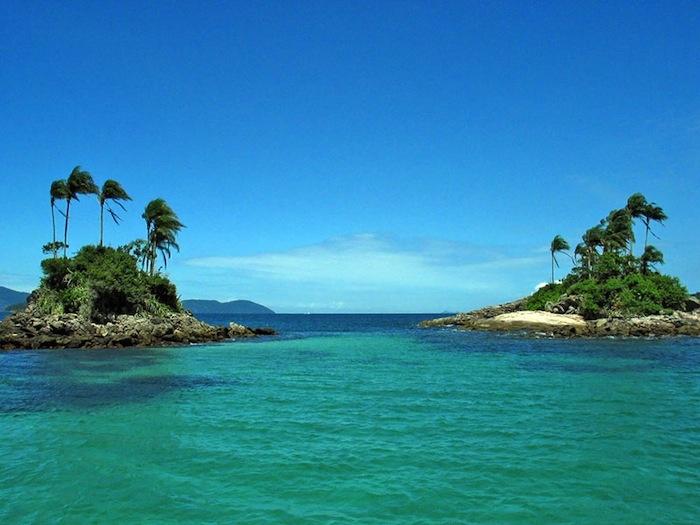 Angra dos Reis, ilhas botinas. #Brasil #Viagem                                                                                                                                                      Mais