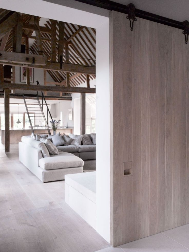 McLaren.Excell Barn door #loft #conversions #renovations #homeimprovement