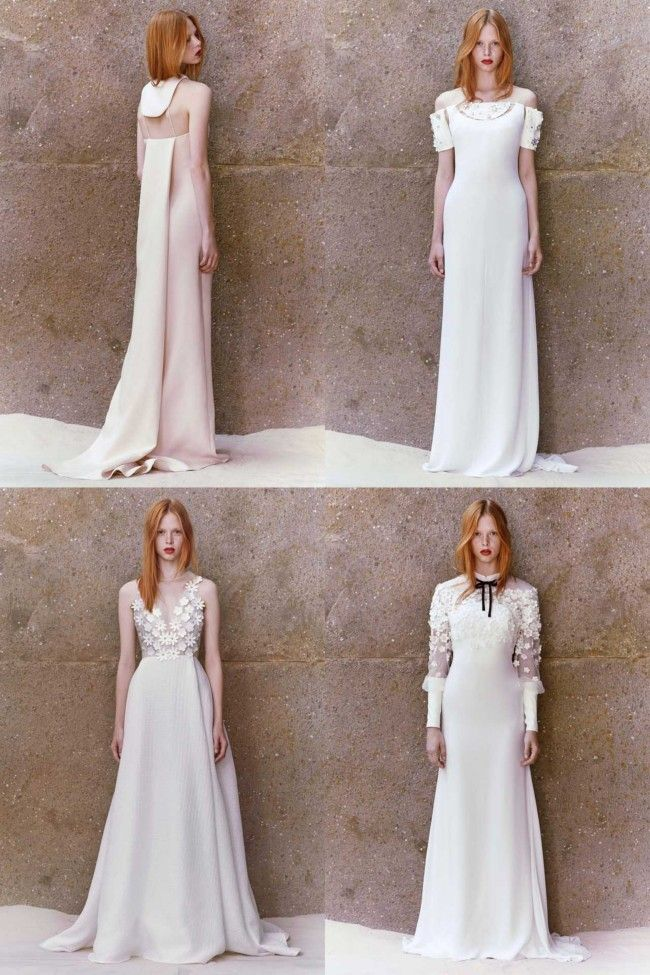 29 wedding looks from resort 2015 to pin on your bridal board