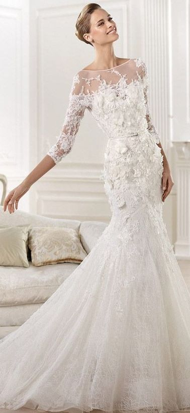 Elie Saab Bridal 2014 - So beautiful! This was THE BRIDAL DRESS of my dreams when I was a little girl..