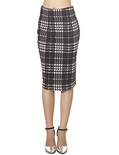 Falda midi de tubo  faldas  moda  mujer  outfits  faldamidi  faldasinvierno a2df692ddd37