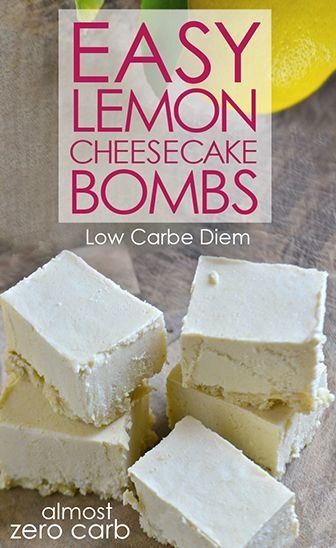 No-bake, creamy and almost zero carb. Healthy fats meet citrus zest.