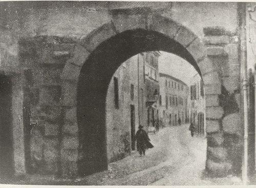 Porta Montanara #bancacarim #fotostoriche #riminisparita #rimini (Concessione Biblioteca Gambalunga Rimini)