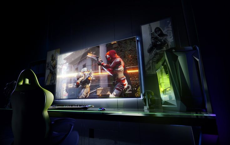(NVIDIA levels up with Big Format displays, Freestyle filters at CES 2018) #Ces, #CES2018, #Gaming, #Geforce, #Monitor, #Nvidia, #Streaming #Technology