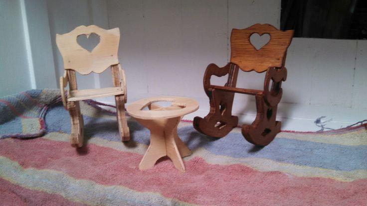 sillones para muñeca