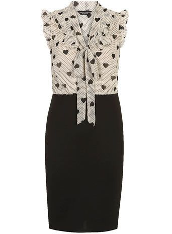 Heart 2 in 1 dress - Suits & Tailoring  - Clothing http://us.dorothyperkins.com/