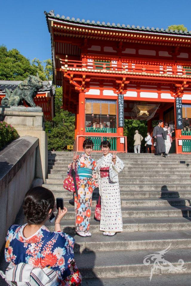 Japan / Tag 9 / Kyoto / Alte Hauptstadt der Tempel