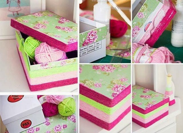 Recycle Cardboard Shoe Boxes Creatively