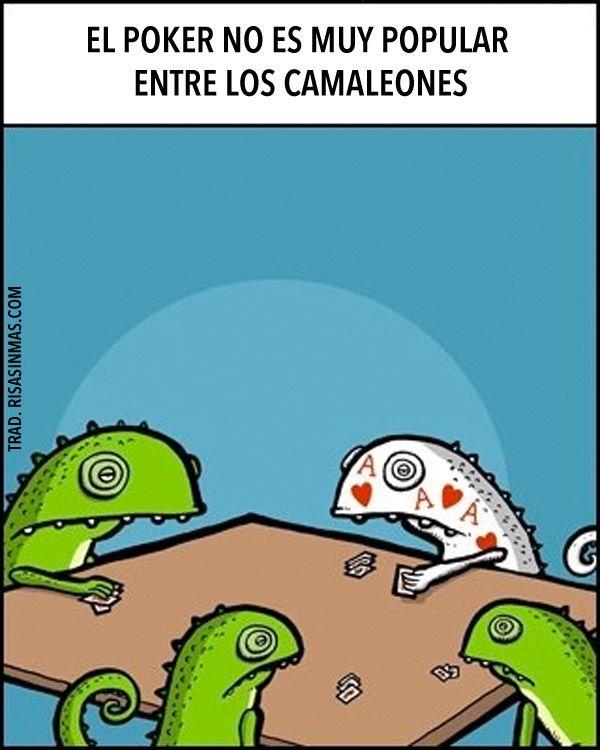 Spanish jokes for kids, chistes para niños. El poker y los camaleones. #spanish