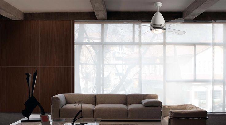 Ventilador de techo blanco FARETTO ambiente