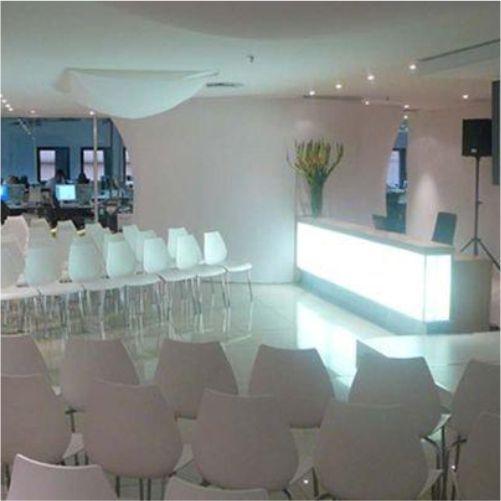 Converted reception area for internal stall event #events #design #branding #rubyoriginal