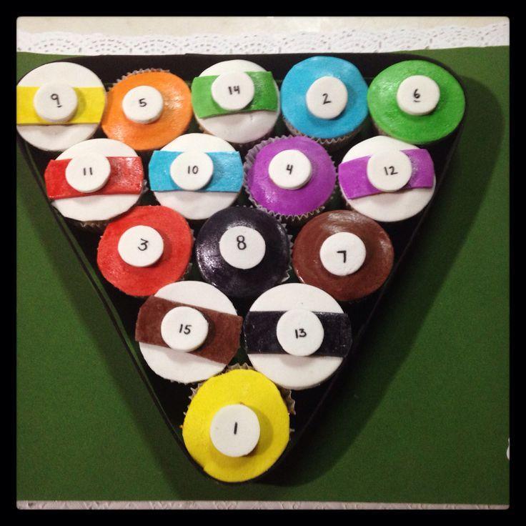 Cupcakes Mesa de Pool