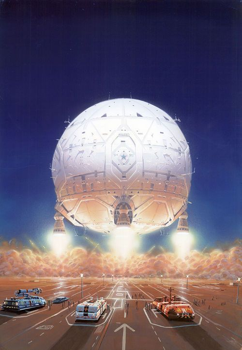 the work of the late Peter Elson – a veteran illustrator in the science fiction genre.