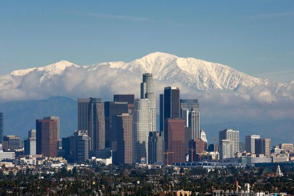 Do You Feel Like Going To The Snow These Places Are Near Los Angeles In 2020 Visit Los Angeles San Gabriel Mountains Downtown Los Angeles