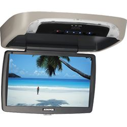 VODDLX10 - 10.1 inch Hi-Def digital monitor with built-in DVD player  The VODDLX10 will transform any rear seat into a traveling movie theater and keep your backseat passengers entertained for hours. This 10.1 inch overhead system comes with interchangeable shale, pewter and black trim rings and snap-on covers as well as a USB reader and built-in 100 channel FM modulator and more!!!