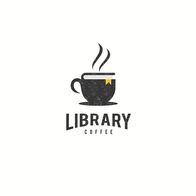 Library Coffee Logo Looking For A Logo Follow Me Queries Dm Me