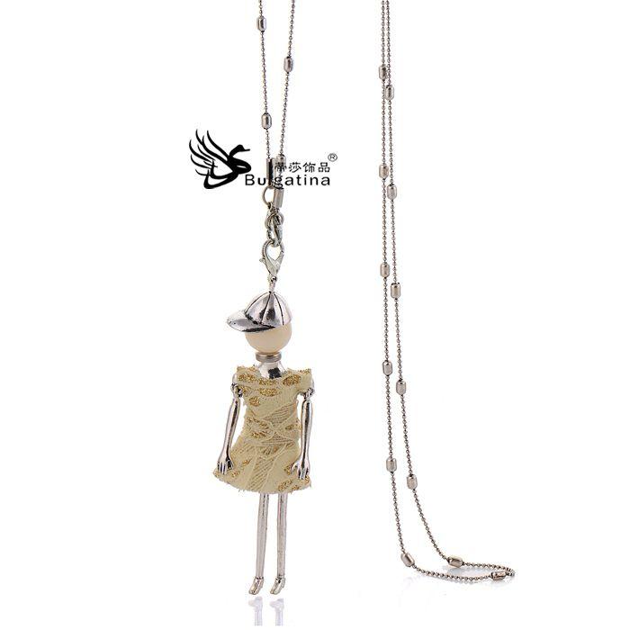Купить Корейский сладкий винтажный желтый кукла кулон ожерелье свитер ожерелье ювелирные изделия для женщиныи другие товары категории Подвескив магазине Bulgatina Brand StoreнаAliExpress. держатель ювелирных изделий ожерелья и ювелирные изделия застежка