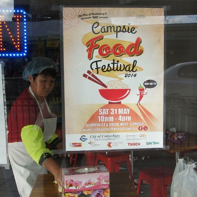 Campsie Food Festival poster — branding by Design-Kink
