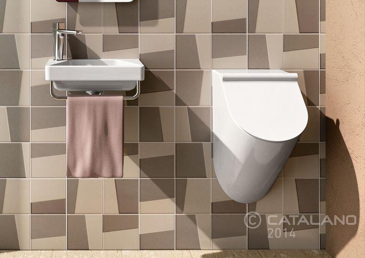 Proiezioni Washbasin 40 with Urinal