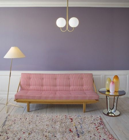 Living room - Vintage 1960′s daybed by Poul M. Volther  - The Apartment March 2014