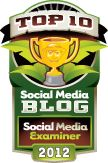 Don't miss these outstanding blogs covering blogging and social media. Named Top 10 on Social Media Examiner.