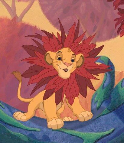 Simba from The Lion King.
