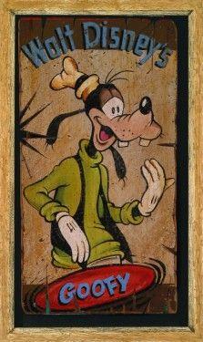 """""""The Goof"""" by Trevor Carlton - Limited Edition of 95, 22x36.  #Disney #Goofy #DisneyFineArt #TrevorCarlton"""
