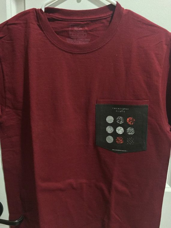 Twenty One Pilots Blurryface Pocket Shirt by SkellyDunBones