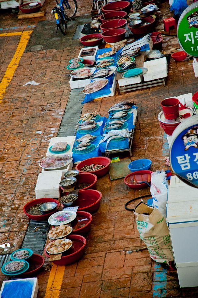 Jangheung Jeongnamjin Market, Korea