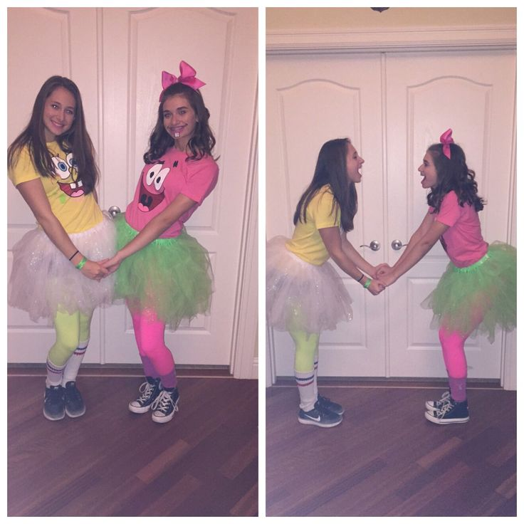Spongebob and Patrick costume! Great for best friends!
