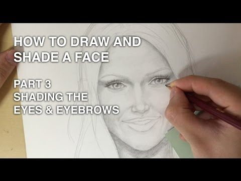 how to draw eyebrows on face