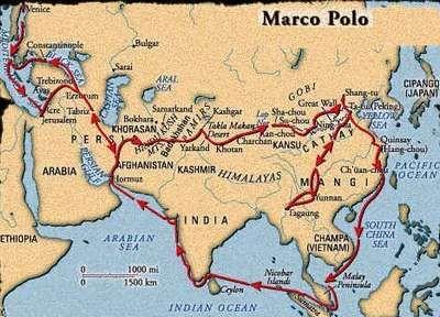 bij les 1 en 2; Marco Polo. Koopman en ontdekkingsreiziger uit Venetië die beroemd is geworden door zijn reizen naar het Verre Oosten. Hij was de eerste Europese beschrijver van het Verre Oosten.