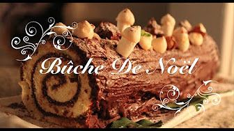 Yule log raspberry chocolate by Chef Sylvain - Christmas Recipes - YouTube