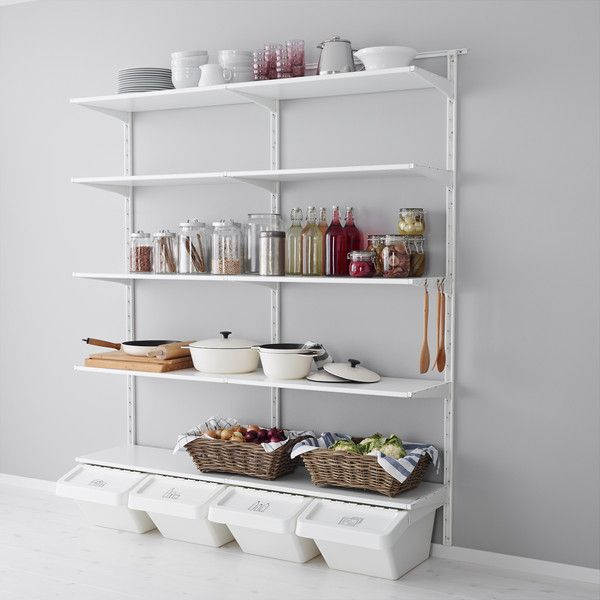 Almacenaje Cocina Ikea | Mejores 768 Imagenes De Almacenaje Despensa En Pinterest