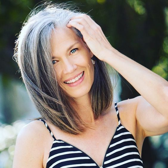 "36 Likes, 1 Comments - Liz Parks (@lizwparks) on Instagram: ""This summer is flying by! #letthesunshine #soakitin #summerbreeze #greyhair #greyhairdontcare…"""
