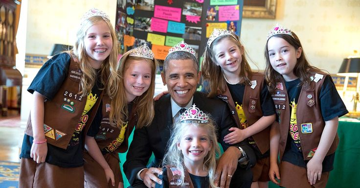 President Barack Obama's approval rating with kids is off the charts! The commander in chief, who has two daughters, Sasha and Malia, lights up around babies and young children — and they light up around him, too! Scroll down to see some of his cutest moments with kids during his eight years in office.