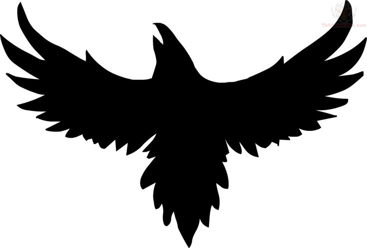 Tribal Crow Tattoo Designs - Cliparts.co