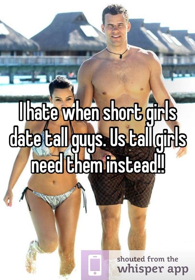 Girl dating guy shorter than her