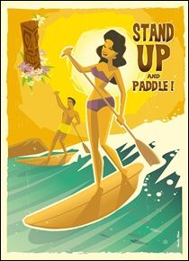 Stand up Paddle #paddle #tiki