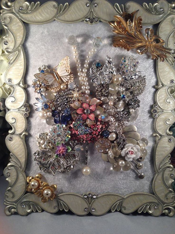 75 Best Vintage Jewelry Christmas Trees By Sunnydayvintage