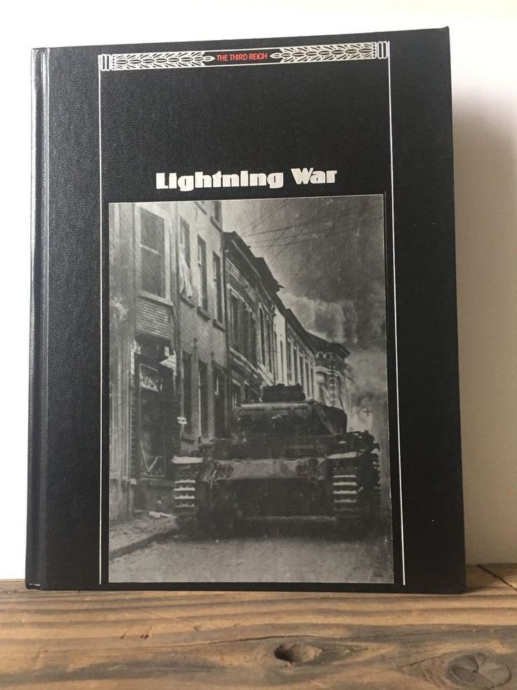 The Third Reich: Lightning War, Time Life Books (1989, Hardcover)