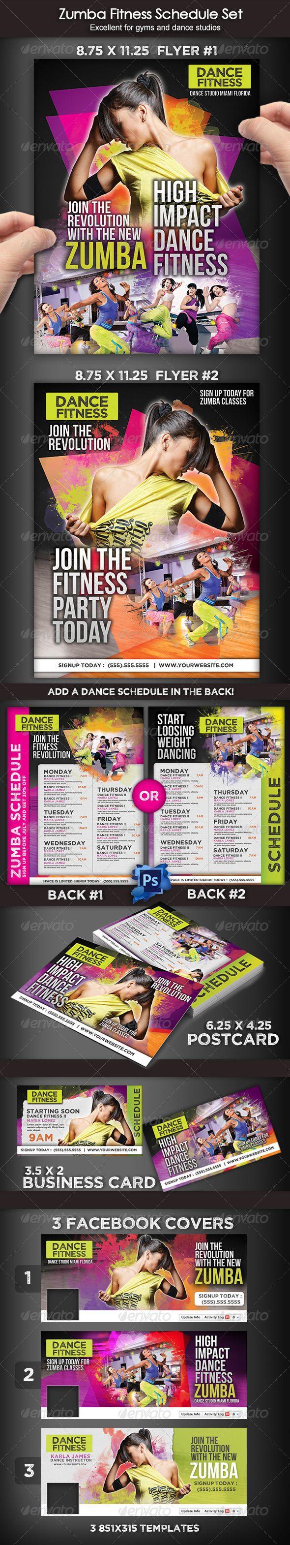 Zumba Dance Fitness Set