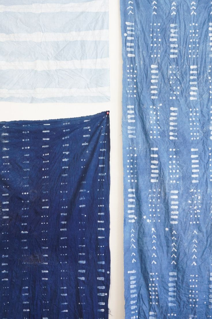 Batik Indigo Mudcloth DIY   Francois et Moi