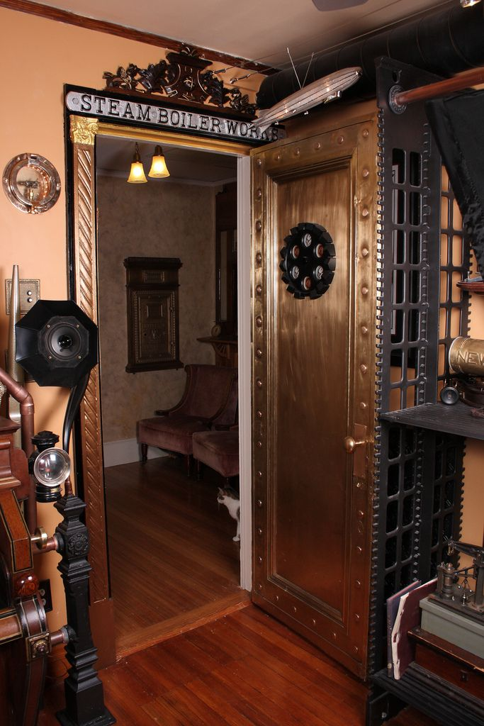 1000 ideas about steampunk interior on pinterest Steampunk interior