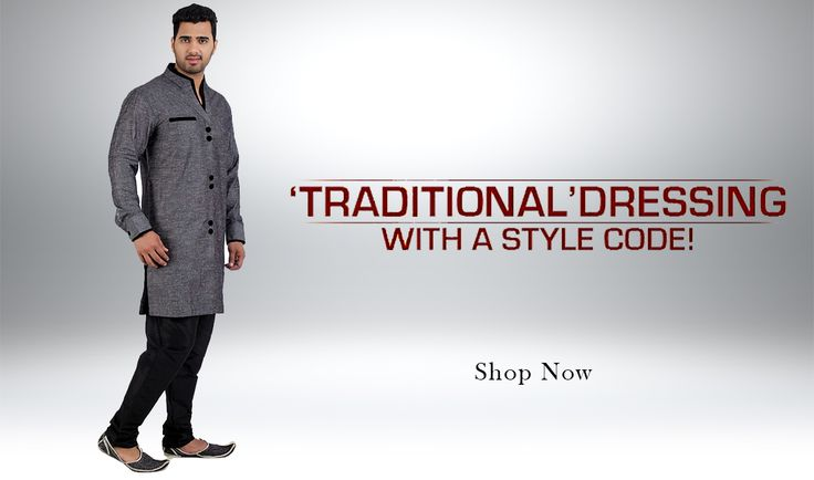 Come Live it Up With Our ‪#‎Collection‬ of ‪#‎Traditional‬ Men's Wear in Various Styles. >> http://hytrend.com/men/ethnics/kurta.html