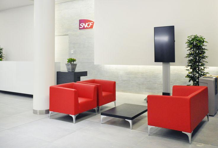 sncf saint denis espace accueil projets d 39 am nagement pinterest. Black Bedroom Furniture Sets. Home Design Ideas