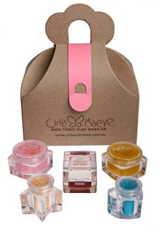 Orla and Maeve non-toxic kids make-up. Australian made