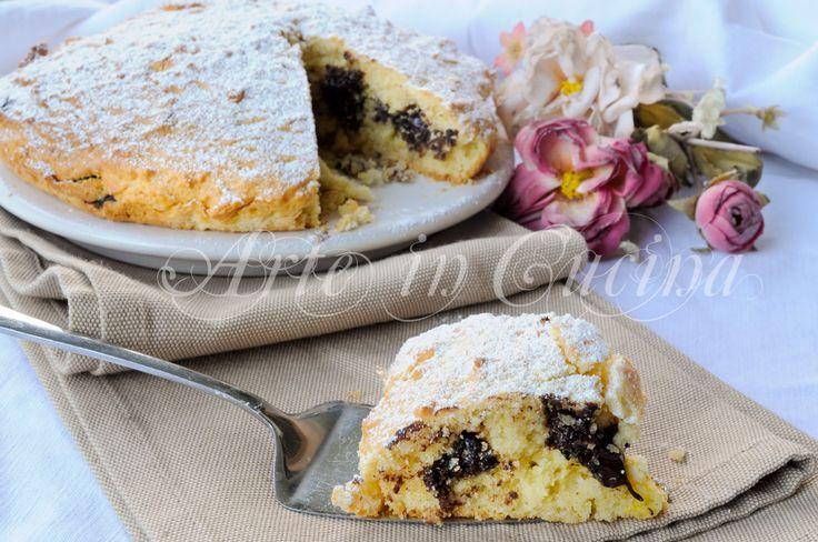 Torta di frolla montata, cioccolato, ricetta facile, veloce, crostata morbidissima, ricetta sfiziosa, torta ripiena, dolce da merenda, colazione in poco tempo