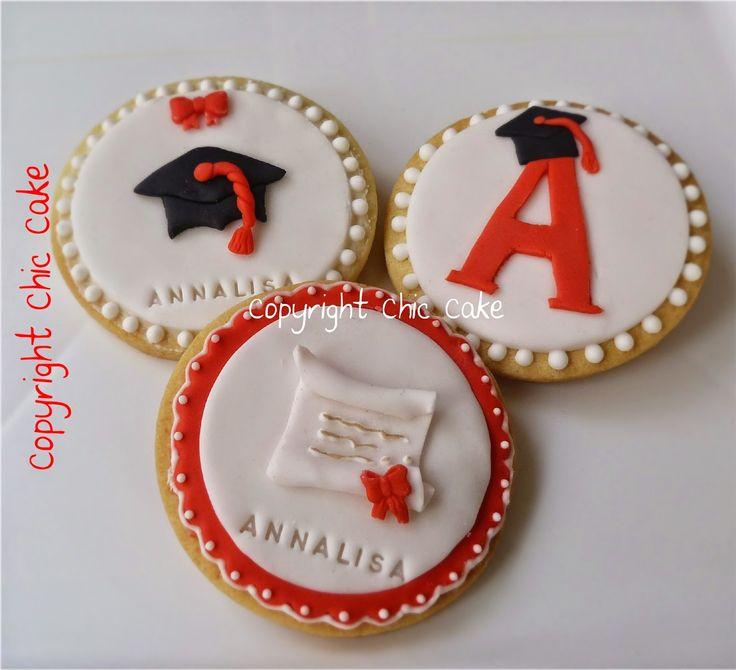 Chic Cake: Biscotti Laurea- Graduation cookies