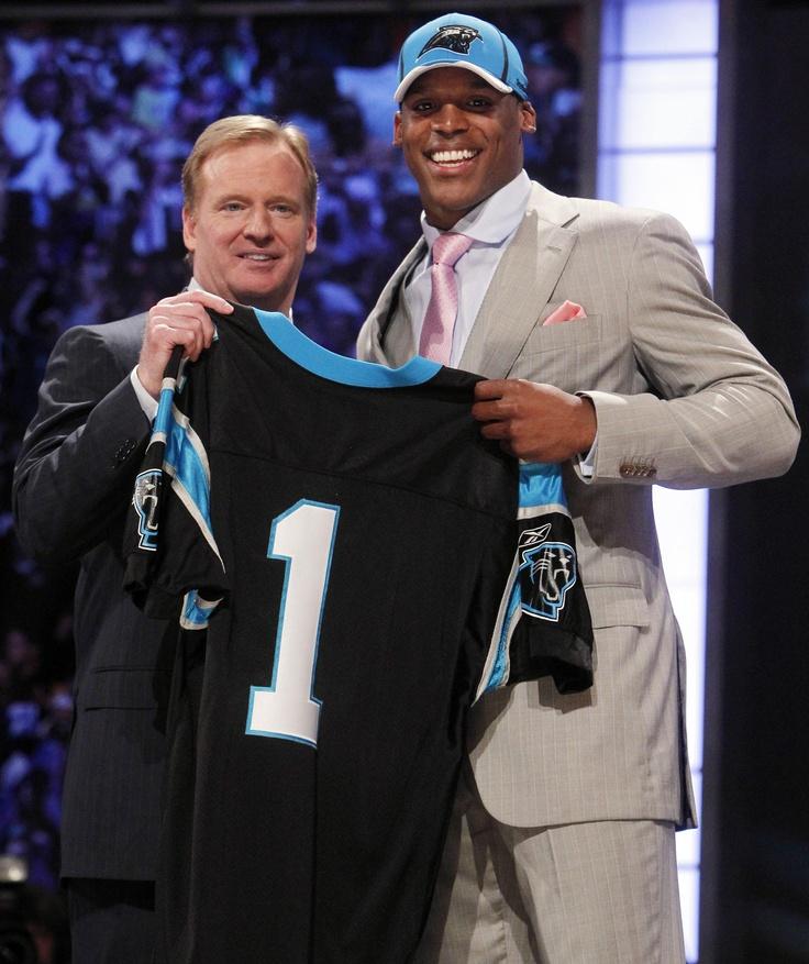 Cam Newton. 2011 NFL First Draft Pick